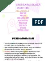 Proses Ekstraksi Skala Industri (2)