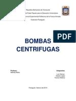 Bombas Centrifugas