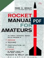 40020834 Rocket Manual for Amateurs CaptainBrinley