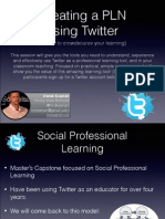 Creating a PLN Using Twitter
