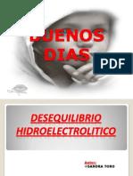 DESIQUILIBRIO HIDROELECTROLICTICO