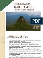 Presentacion ZR Sierra Del Divisor