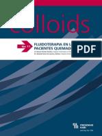 InfoColloids 11 - FLUIDOTERAPIA EN LOS PACIENTES QUEMADOS CRÍTICOS - Ene 11