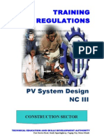 Tr - Pv System Design Nc III