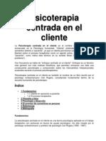 Psicoterapia Centrada en El Cliente
