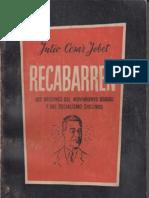 Julio César Jobet - Recabarren (1955)