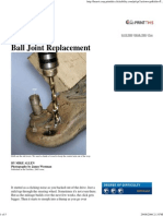 Popular Mechanics - Ball Joint Replacement