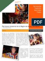 Carnavales, Tradición, Identidad, Fiesta. Patrimonio Inmaterial de la Región de Arica y Parinacota