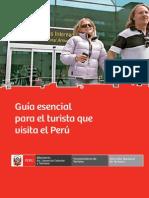 Guía esencial para el turista que visita el Perú