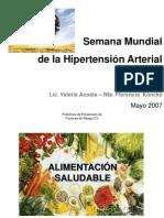 Consejos Nutricionales Para Ninos SEMANA HA 2007