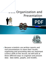 Data Organization and Presentation