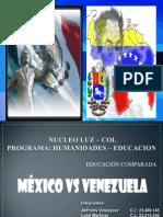 Comparacion Mexico Venezuela LUIGI