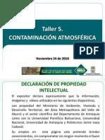 Taller de Contaminación Ambiental