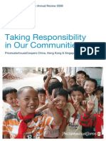 Corporate Responsibility Annual Review 2008