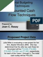 Capital Budgeting - Joan