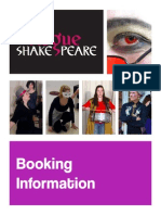 rogue shakespeare touring information