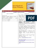 Lista de NTP de Fabricacion de Conductores