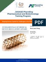 NUSAGE-PharmEng 30-31 May 2013 Fundamentals of Medical Device RA