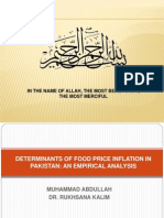 Icobm-Determinants of Food Price Inflation in Pakistan-1