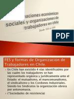 Formaciones económicas sociales y organizaciones de trabajadores en