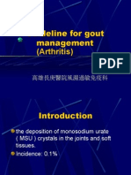 Guideline for gout management