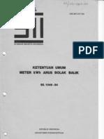 SNI 04-2702-1992