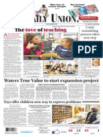 The Daily Union. February 08, 2014