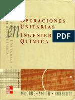 Operaciones Unitarias en Ingeniería Química, Sexta Edición [Warren L McCabe, Julian C Smith, Peter Harriott]