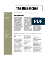 The Dispatcher Volume 3 Issue 2 August 2009