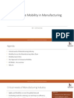 Enterprise Mobility in Manufacturing by IceNVog