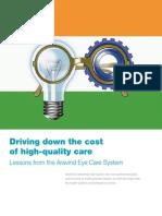 Dr Aravind  Eye hsopital successful business modelInterview