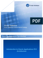 Oracle Apps R12 Architecture