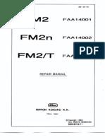 Nikon FM-2 Repair Manual