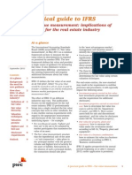FV Measurements IFRS 13 for Real Estate Industry (PwC 2011)