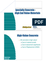 High PerformANCE CONCRETE