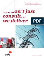 Pwc Global Power and Utilities Statement of Consulting Capabilities