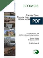 Proceedings ICOMOS Scientific Symposium Dublin 2010