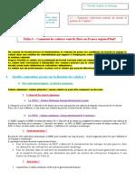 Fiche 3 - La Fixation Des Salaires en France