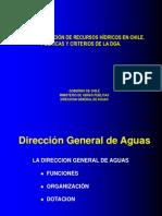 Admin Recs Hídricos Chile, DGA, 2004