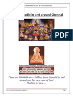 Jeeva Samadhi in and Around Chennai