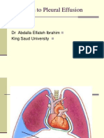 15 - Approach to Pleural Effusion