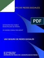 Uso Seguro de Redes Sociales