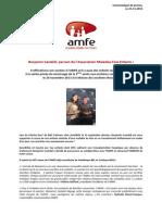 Communique de Presse Benjamin Castaldi - Amfe