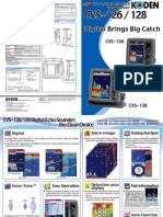 Koden CVS 126 128 Brochure