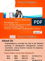 PGDLAN Synopsis and Projects Presentation