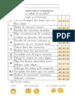 RÚBRICA TEMA 6-7 DE MATEMÁTICAS
