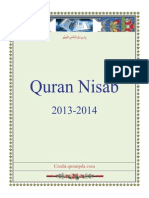 Quran Nisab 2013-2014_English