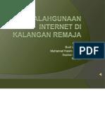 Faktor Penyalahgunaan Internet Di Kalangan Remaja