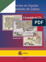 Los efectos en España del terremoto de Lisboa