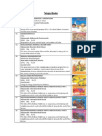 List of Telugu Books Free Download | Web Standards | World